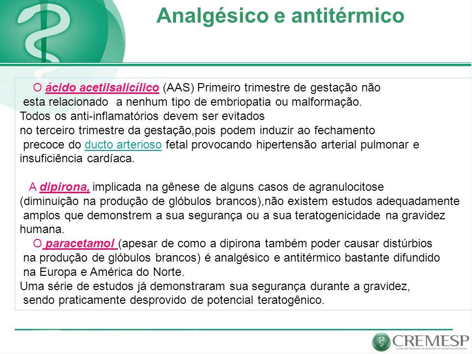 Analgésico e antitérmico