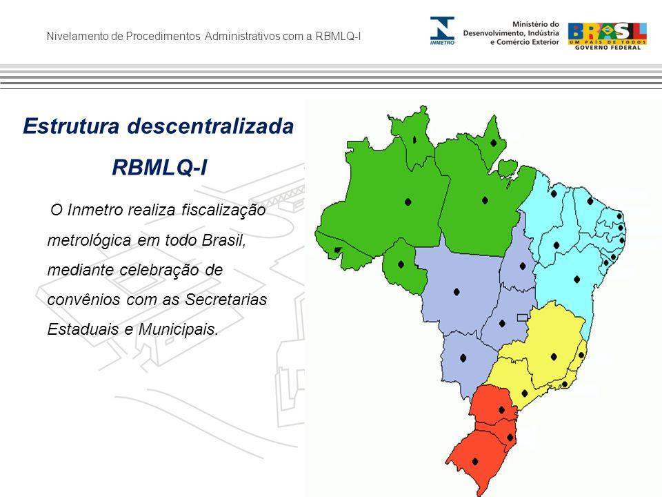 Estrutura descentralizada RBMLQ-I
