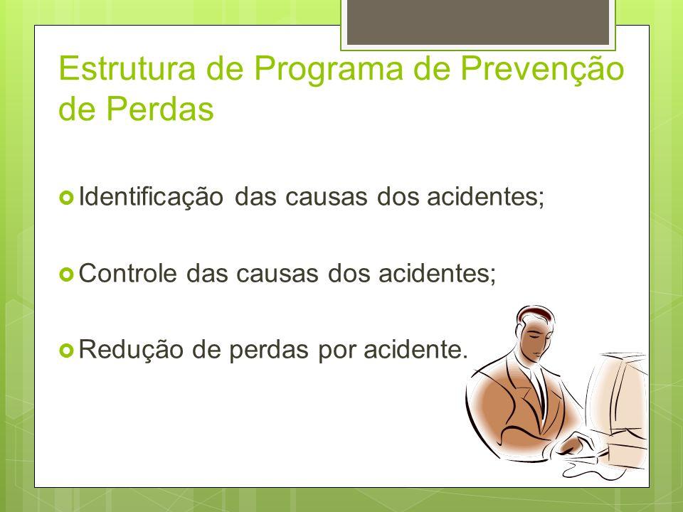 Estrutura de Programa de Prevenção de Perdas