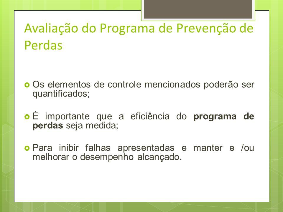 Avaliação do Programa de Prevenção de Perdas