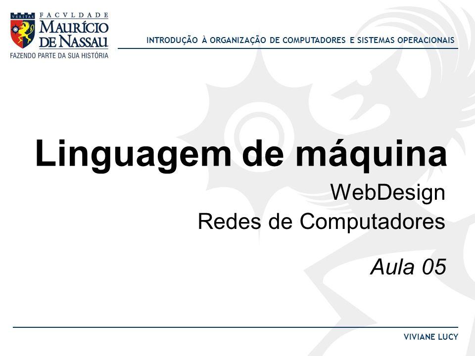WebDesign Redes de Computadores Aula 05
