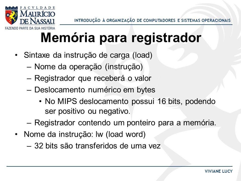 Memória para registrador