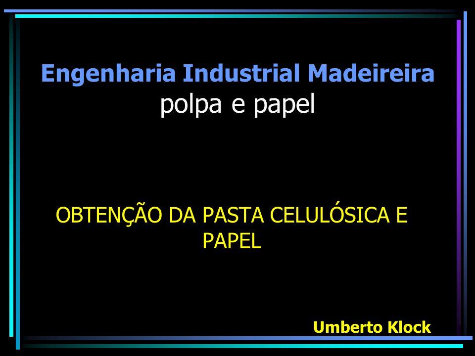 Engenharia Industrial Madeireira polpa e papel