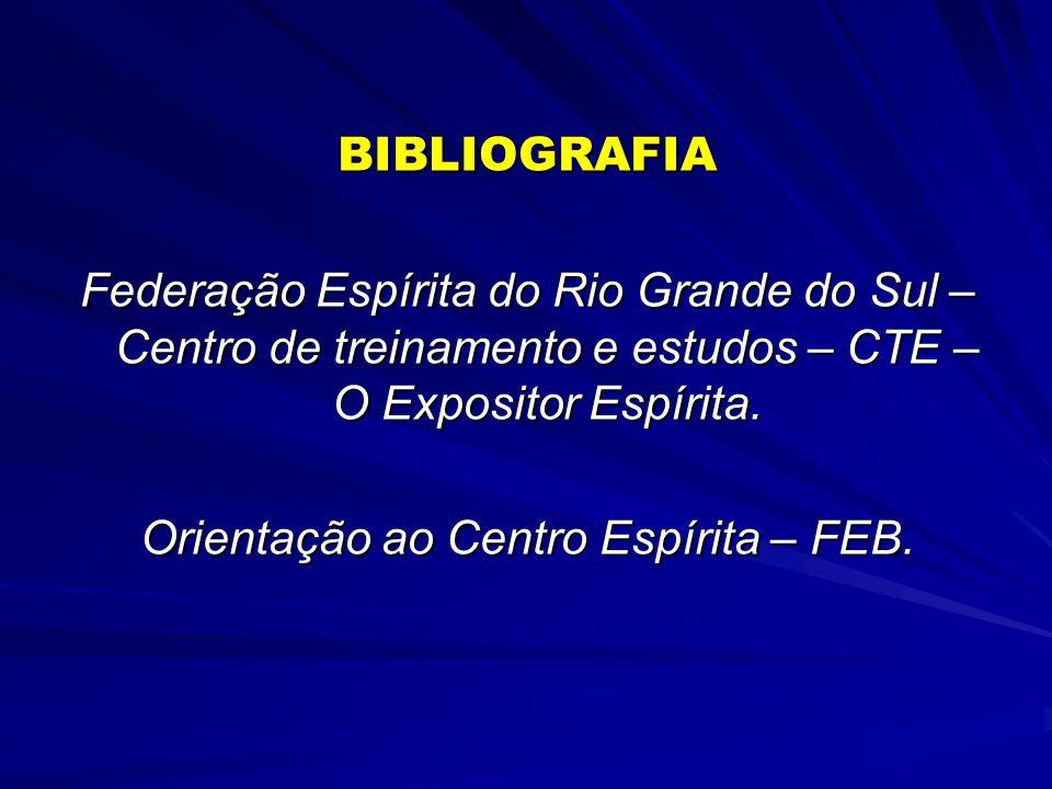 Orientação ao Centro Espírita – FEB.