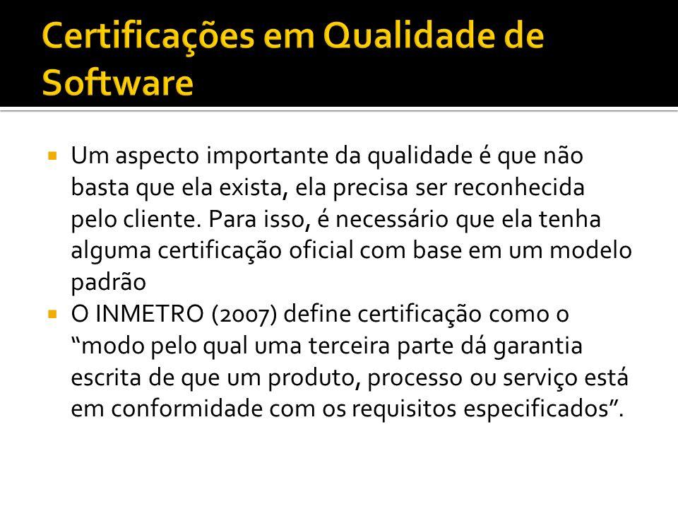 Certificações em Qualidade de Software