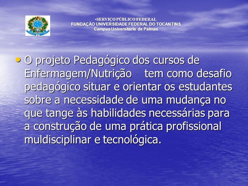SERVIÇO PÚBLICO FEDERAL Campus Universitário de Palmas