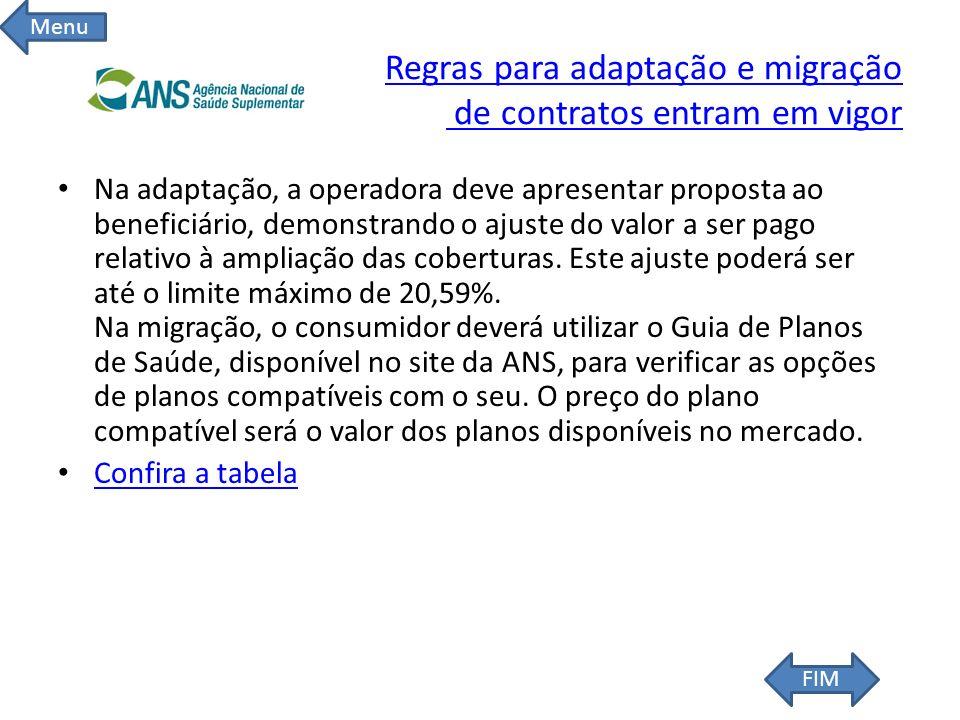 Regras para adaptação e migração de contratos entram em vigor