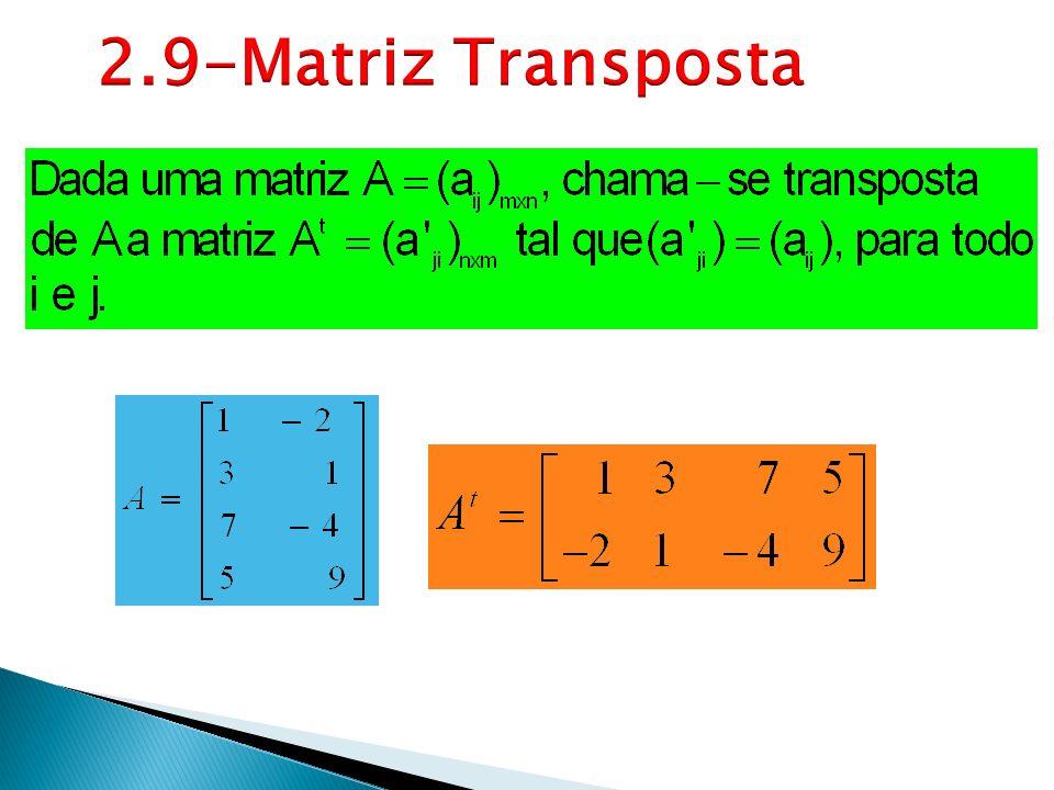 2.9-Matriz Transposta