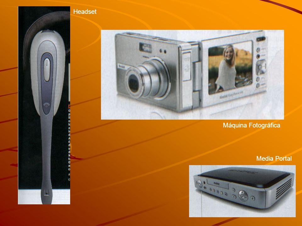 Headset Máquina Fotográfica Media Portal