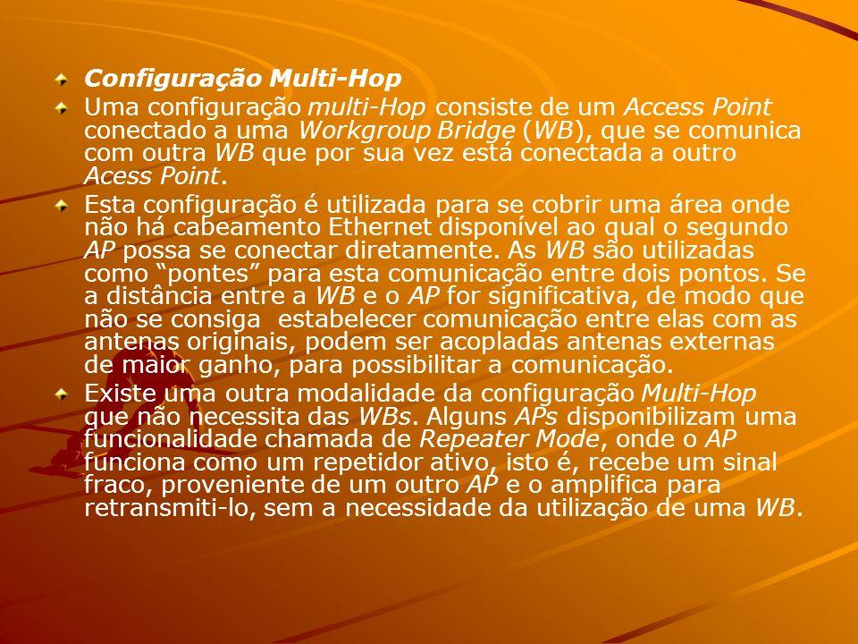 Configuração Multi-Hop