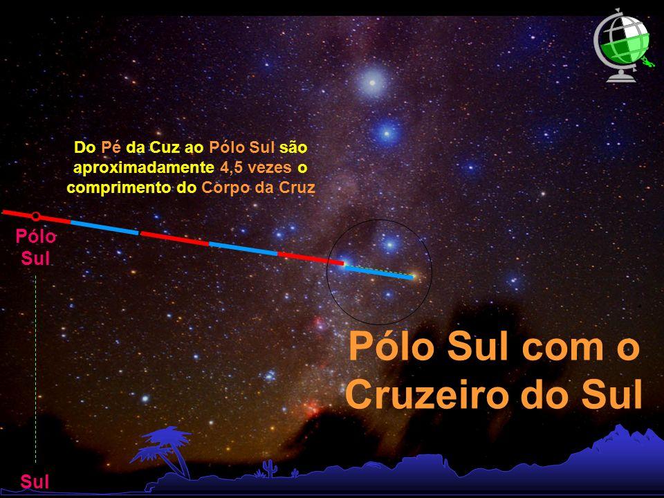 Pólo Sul com o Cruzeiro do Sul