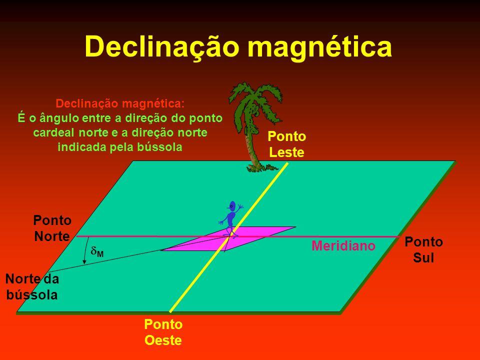 Declinação magnética: