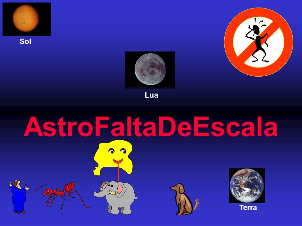 Sol AstroFaltaDeEscala Lua Terra
