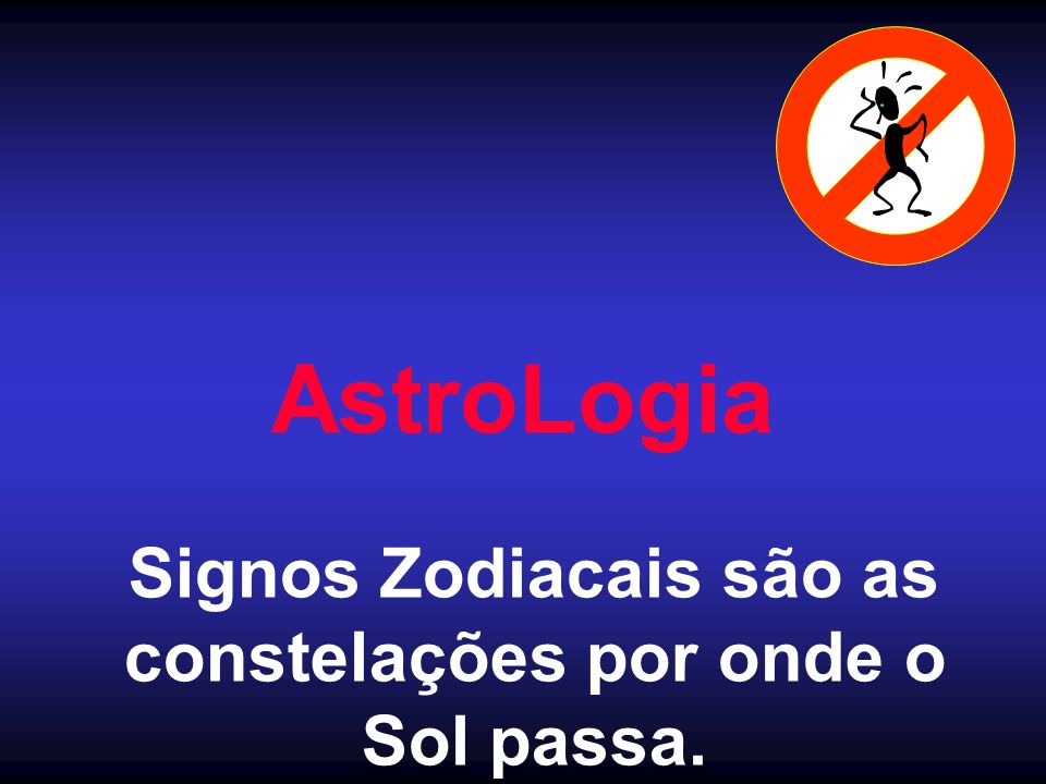 Signos Zodiacais são as constelações por onde o
