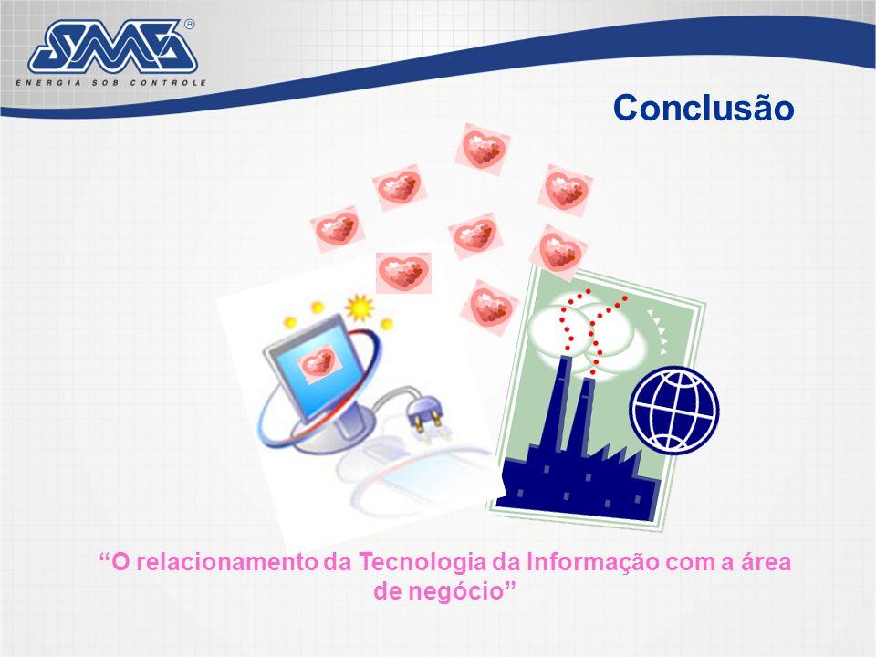 O relacionamento da Tecnologia da Informação com a área de negócio