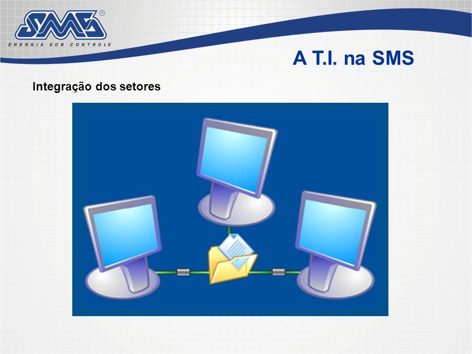 A T.I. na SMS Integração dos setores
