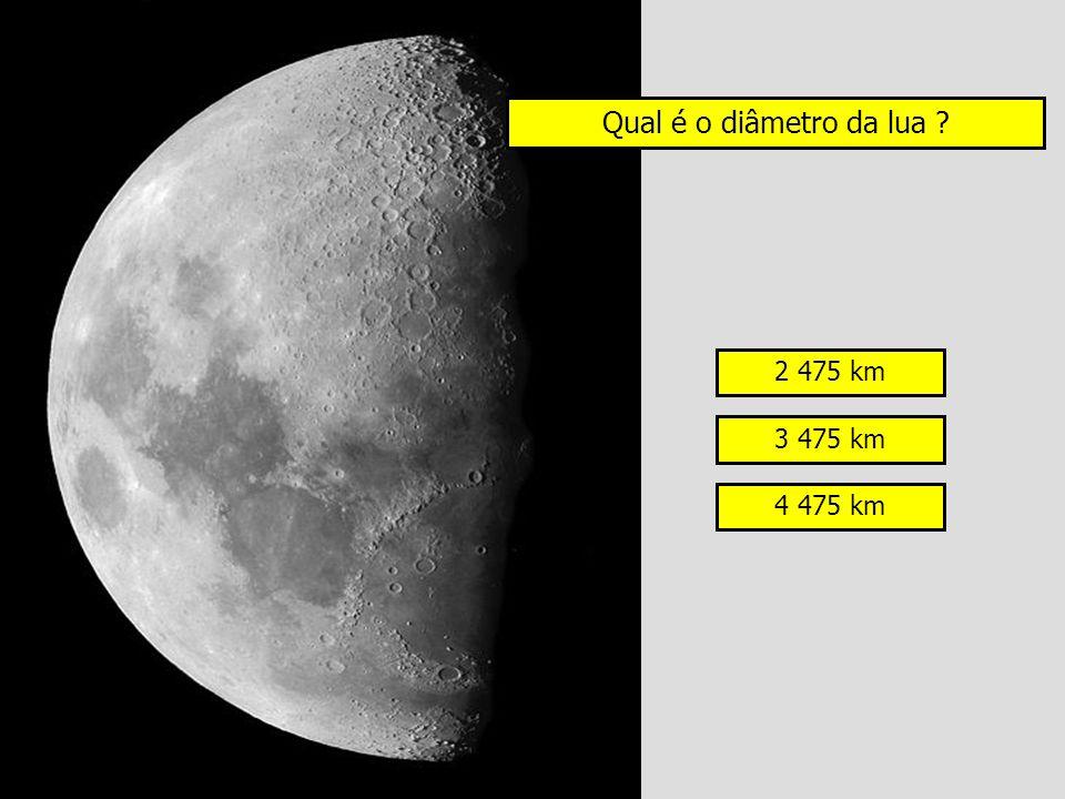 Qual é o diâmetro da lua 2 475 km 3 475 km 4 475 km