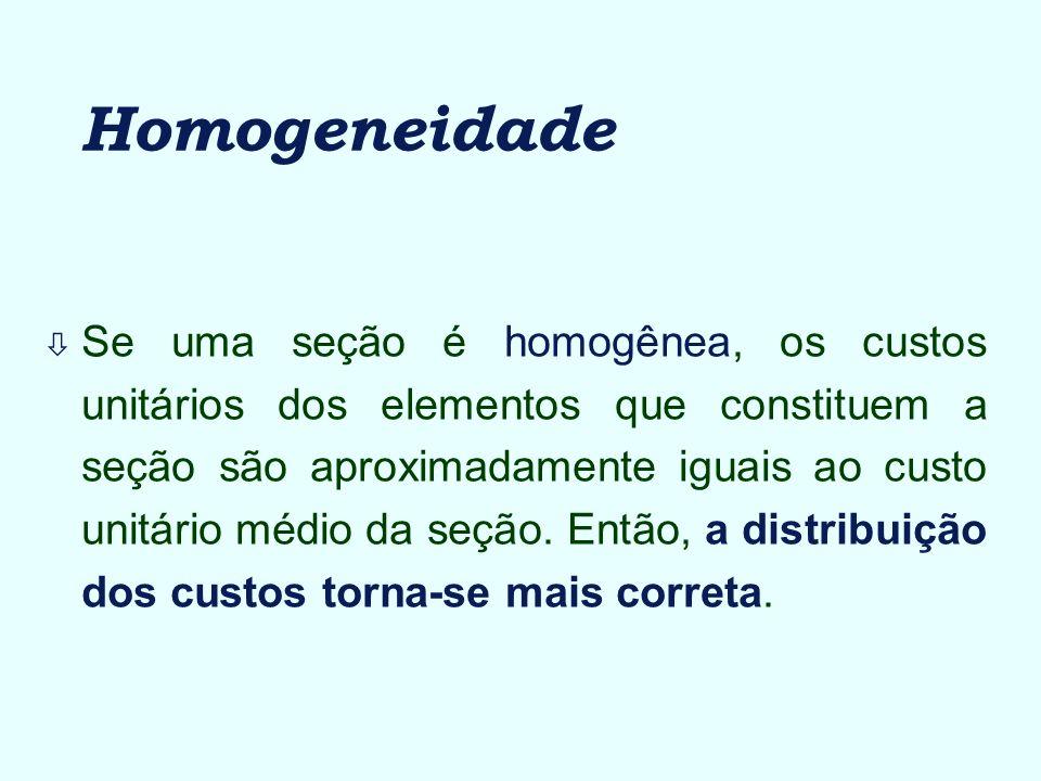 Homogeneidade
