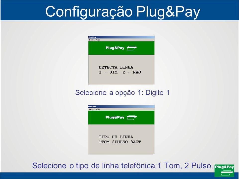 Configuração Plug&Pay