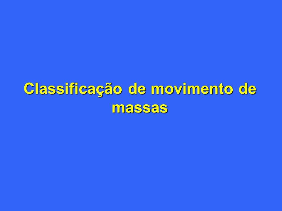 Classificação de movimento de massas