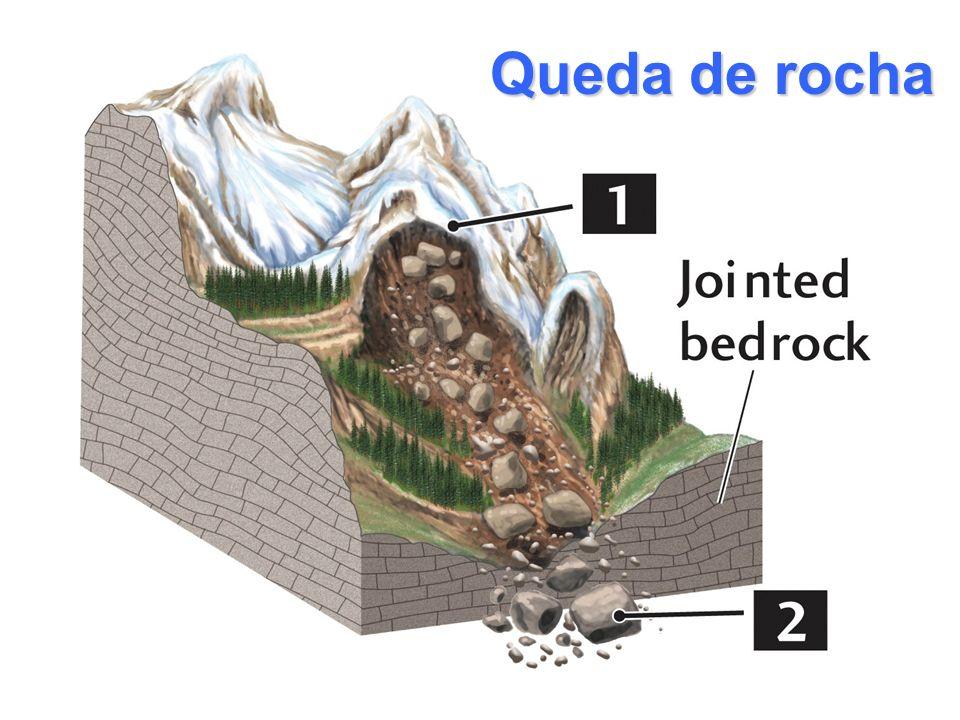 Queda de rocha