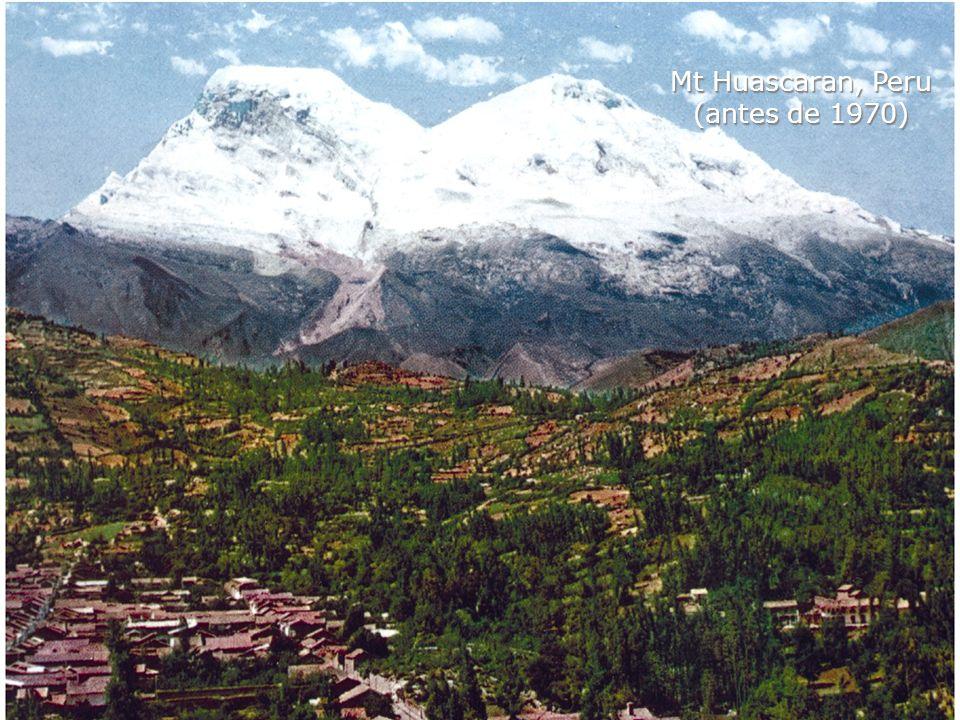 Mt Huascaran, Peru (antes de 1970)