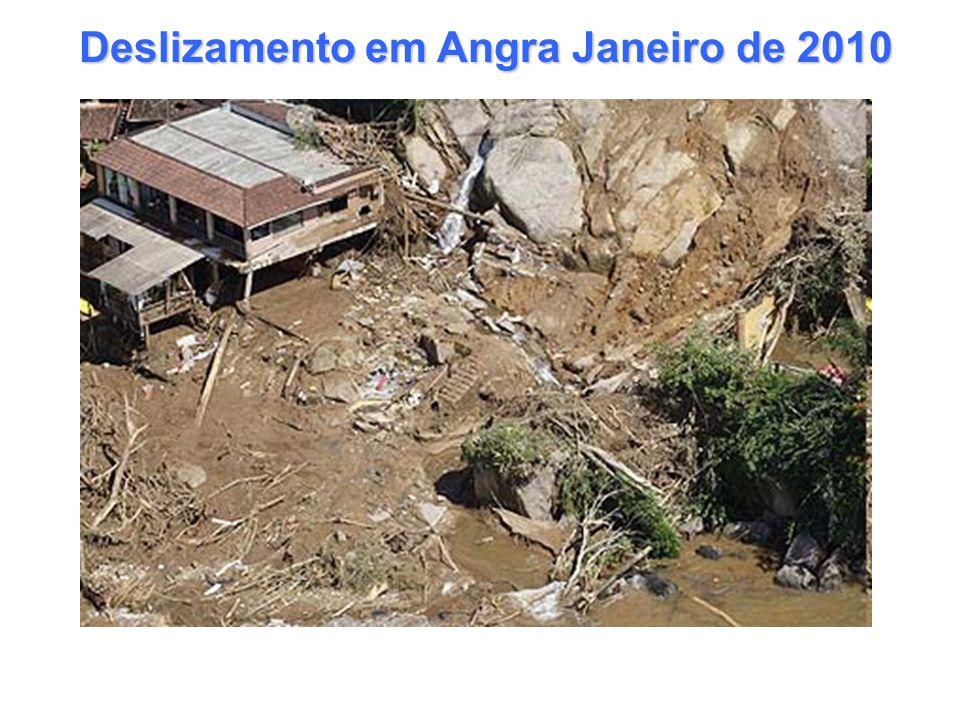 Deslizamento em Angra Janeiro de 2010