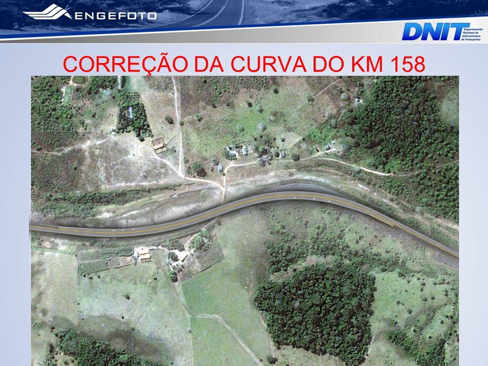 CORREÇÃO DA CURVA DO KM 158