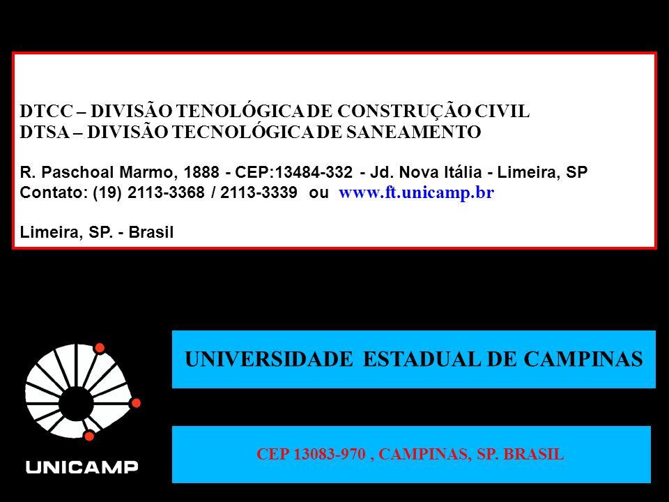 UNIVERSIDADE ESTADUAL DE CAMPINAS CEP 13083-970 , CAMPINAS, SP. BRASIL