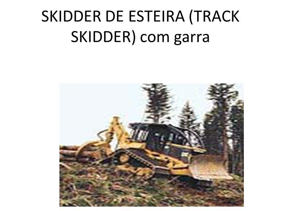 SKIDDER DE ESTEIRA (TRACK SKIDDER) com garra