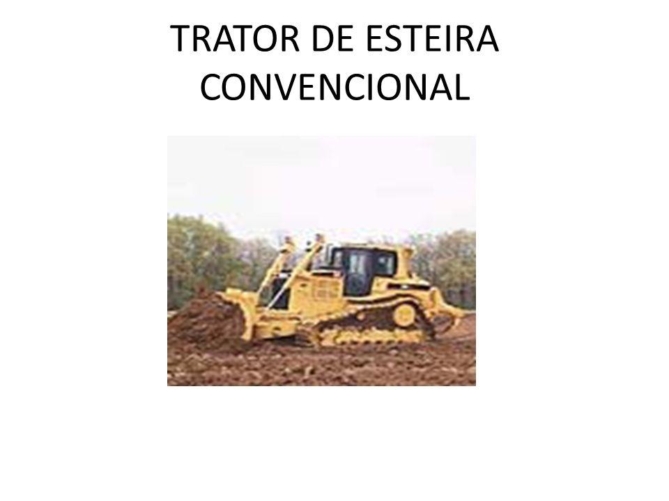 TRATOR DE ESTEIRA CONVENCIONAL