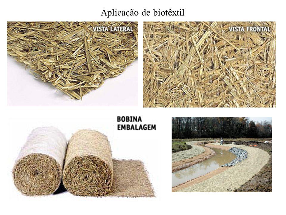 Aplicação de biotêxtil