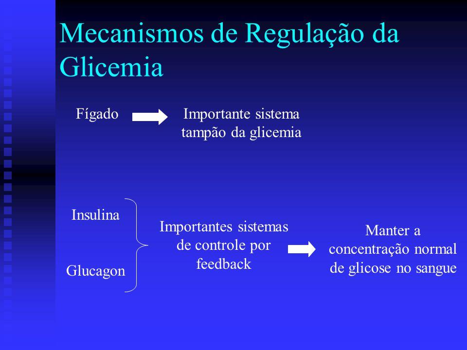 Mecanismos de Regulação da Glicemia