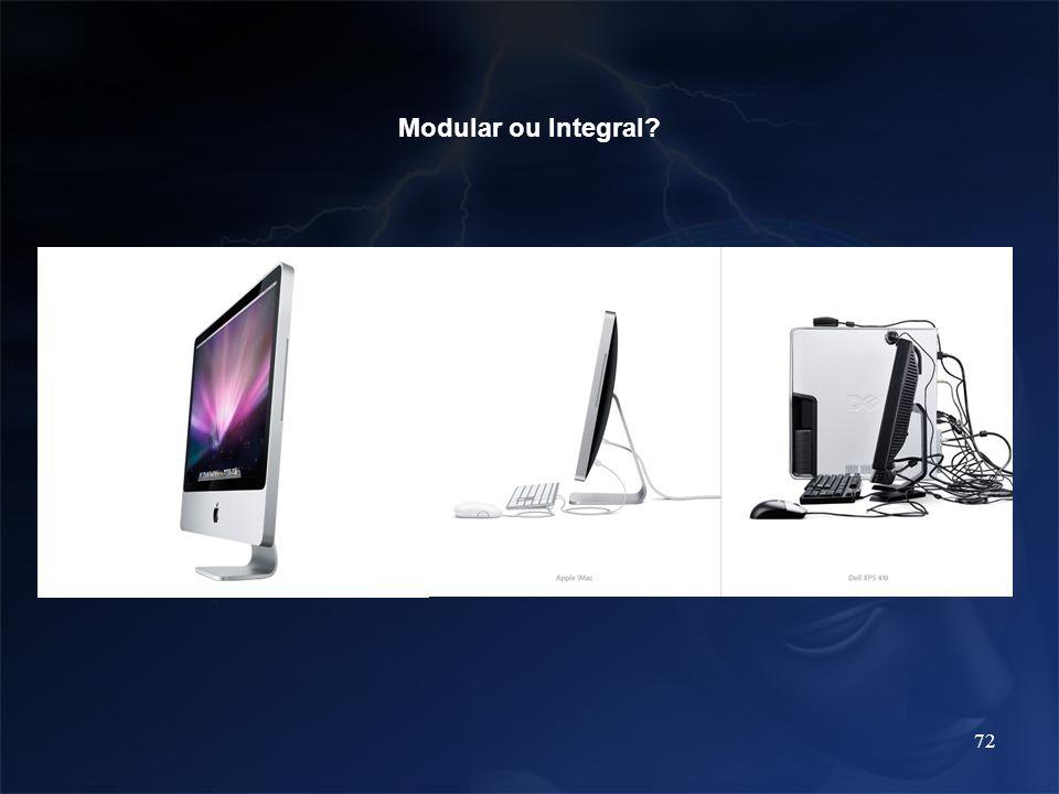 Modular ou Integral