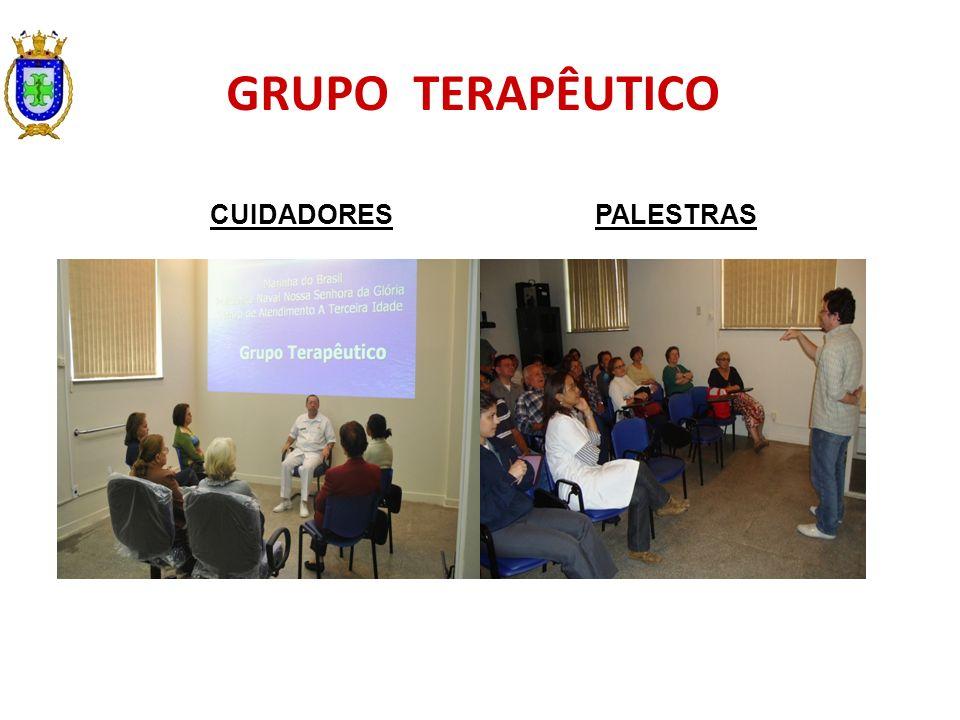 GRUPO TERAPÊUTICO CUIDADORES PALESTRAS
