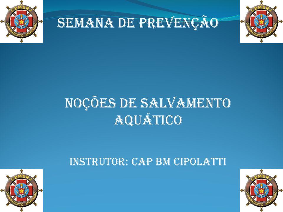 Noções de Salvamento aquático