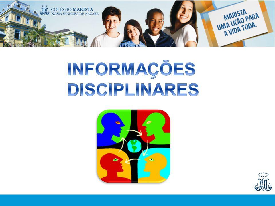 INFORMAÇÕES DISCIPLINARES