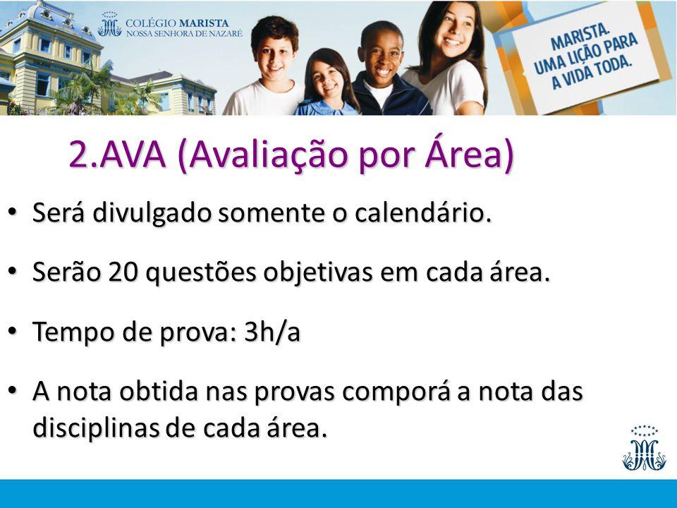 2.AVA (Avaliação por Área)