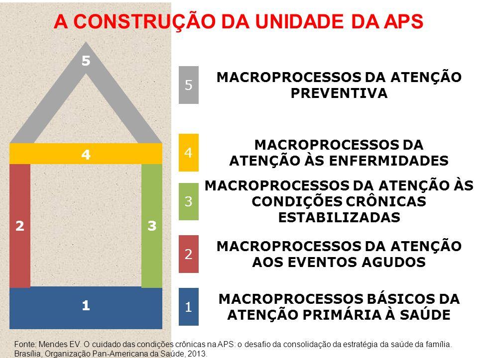 A CONSTRUÇÃO DA UNIDADE DA APS