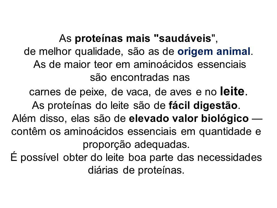 As proteínas mais saudáveis ,