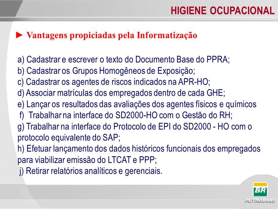 ► Vantagens propiciadas pela Informatização