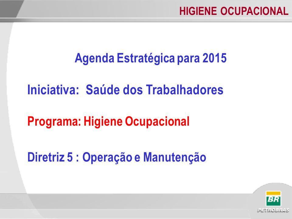 Agenda Estratégica para 2015