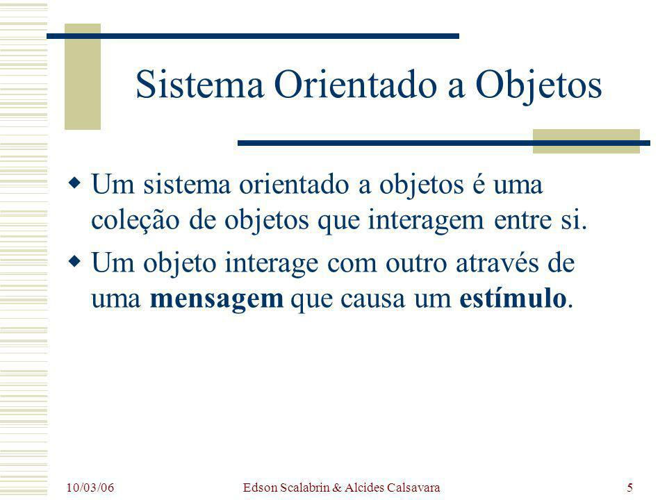 Sistema Orientado a Objetos