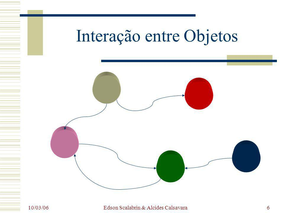 Interação entre Objetos