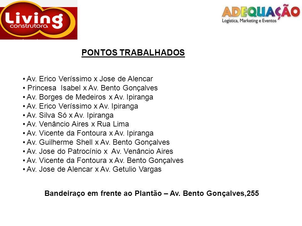 PONTOS TRABALHADOS Av. Erico Veríssimo x Jose de Alencar