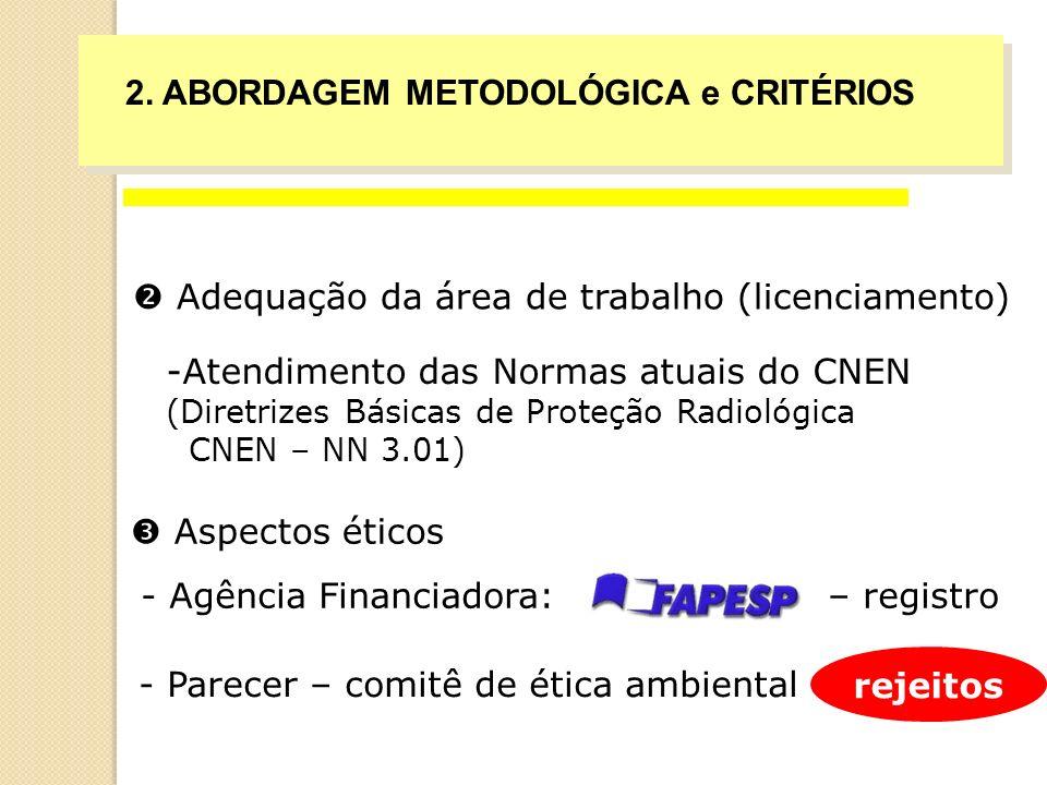 2. ABORDAGEM METODOLÓGICA e CRITÉRIOS