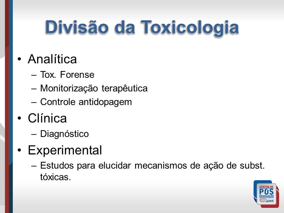 Divisão da Toxicologia