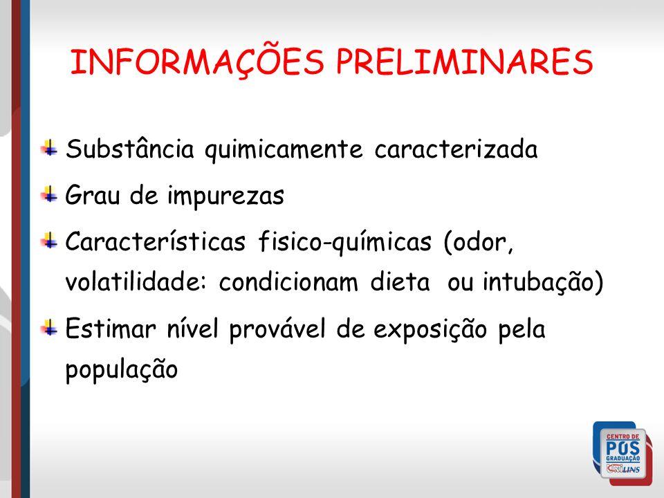INFORMAÇÕES PRELIMINARES