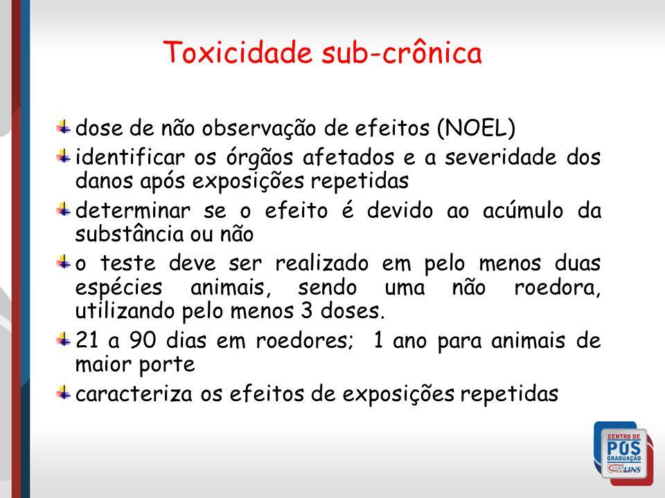 Toxicidade sub-crônica