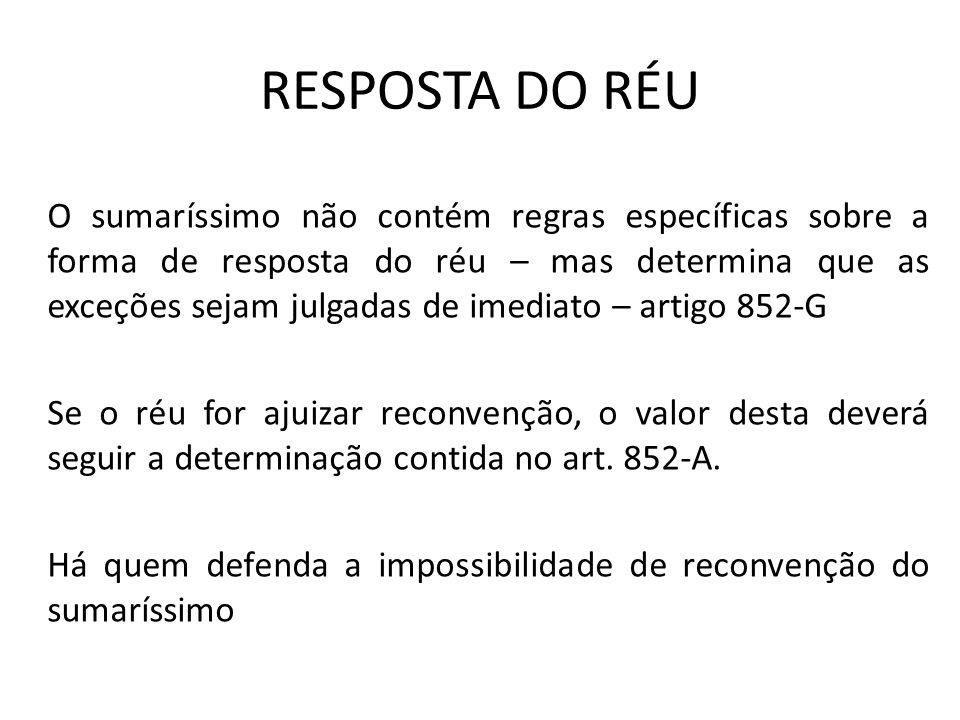 RESPOSTA DO RÉU